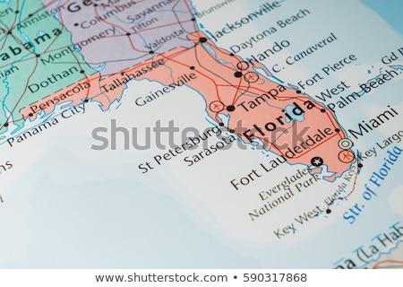 Miami · zászló · város · Florida · Egyesült · Államok · Amerika - stock fotó © michaklootwijk