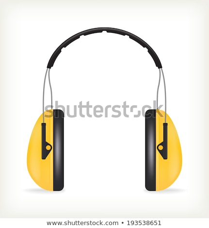 Hearing protection  ear muffs Stock photo © neirfy