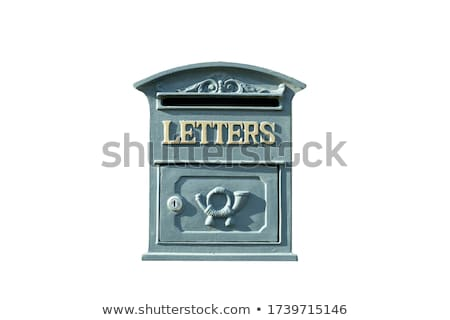 starych · kilka · drzwi · malowany · niebieski - zdjęcia stock © zkruger