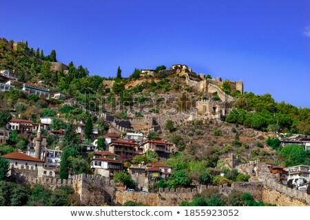 Cityscape turco recorrer casa cidade paisagem Foto stock © amok