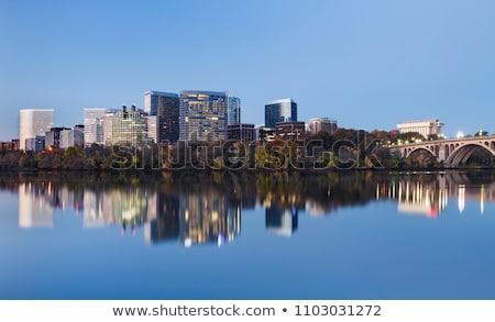 Virginie · Skyline · ville · silhouette · bâtiment · fond - photo stock © blamb
