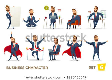 businessman standing relaxed stock photo © hasloo