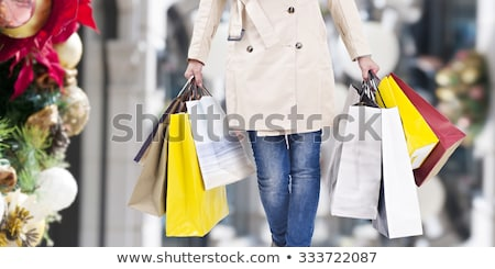 Christmas Shopping Spree Stock photo © Lightsource