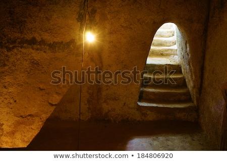 トンネル · 入り口 · 垂直 · 画像 · 岩 - ストックフォト © xuanhuongho