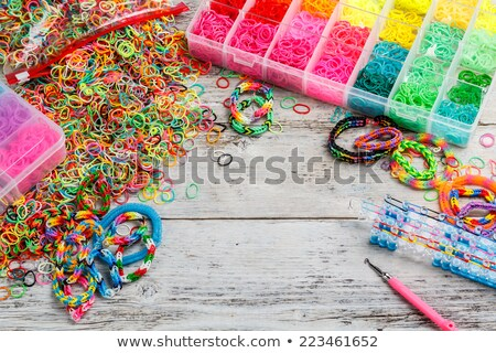 loom bands in box stock photo © grafvision
