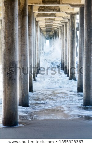 Storm Wharf Waters Stock photo © rghenry
