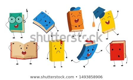 különböző · könyvek · oktatás · tudás · fogalmak - stock fotó © thanawong