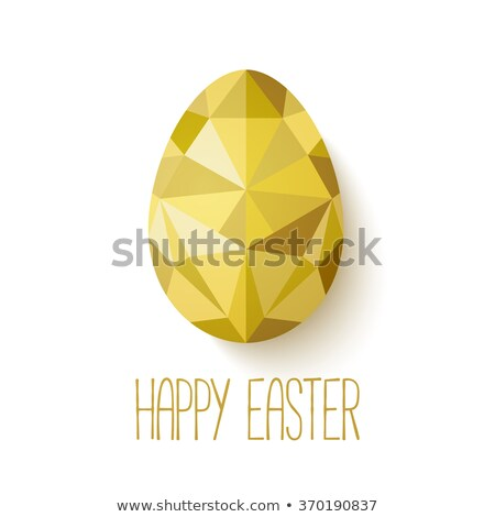 diamant · frame · easter · egg · mode · jesus · steen - stockfoto © carodi