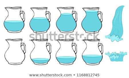 Filling Water Jug Stock photo © lisafx