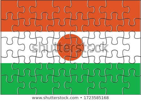 European Union and Niger Flags in puzzle Stock photo © Istanbul2009
