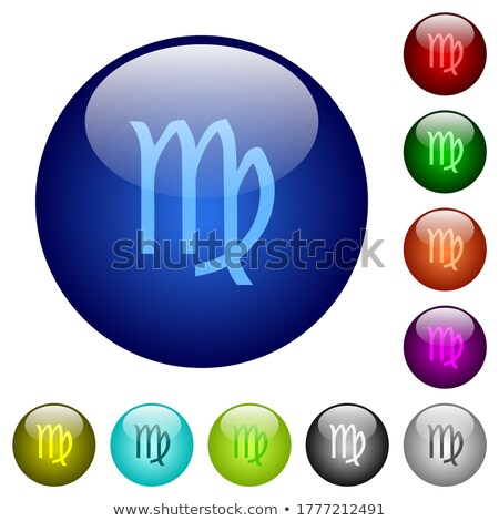 Multiple boutons image zodiac signe terre Photo stock © cteconsulting