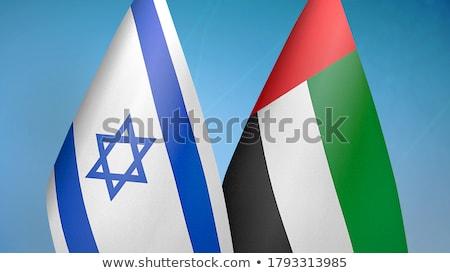 Verenigde Arabische Emiraten Israël vlaggen vector afbeelding puzzel Stockfoto © Istanbul2009