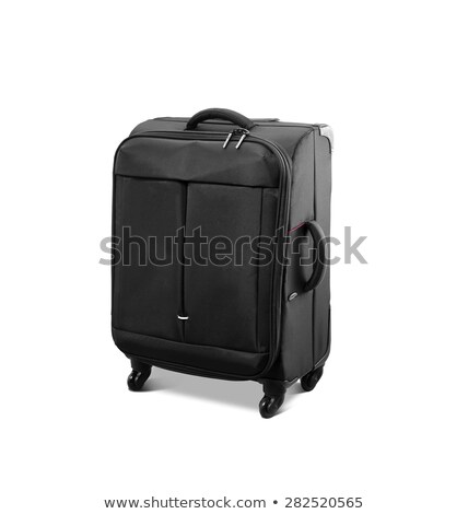 Modern convenience suitcase on casters Stock photo © shutswis