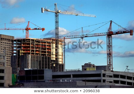 hi rise construction Stock photo © tracer