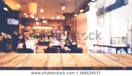 vintage coffee shop stock photo © zhukow