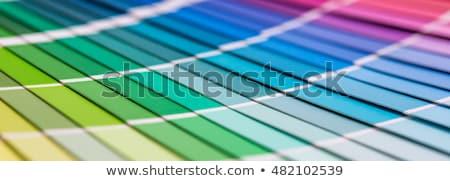 色 · プリンタ · 3D · 白 · オフィス · 紙 - ストックフォト © shutswis