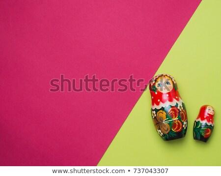 funny Russian dolls Stock photo © adrenalina