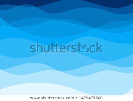 Aqua waves background Stock photo © day908