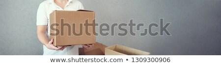 fort · lourd · cases - photo stock © deandrobot