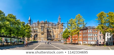 Aachen town hall in Germany Stock photo © boggy