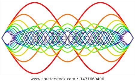 Onda radiazione abstract tecnologia pattern elettrica Foto d'archivio © ssuaphoto