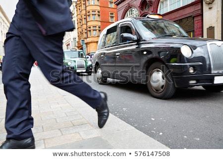 London taxi Oxford utca Westminster épület Stock fotó © lunamarina