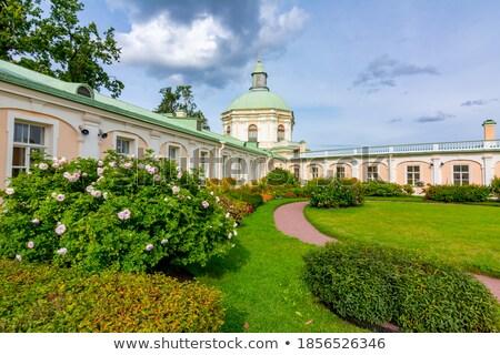 palais · parc · Russie · ciel · bâtiment · jardin - photo stock © serpla