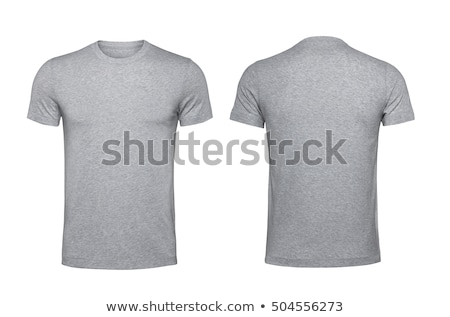 Póló sablon izolált fehér vágási körvonal bolt Stock fotó © kayros