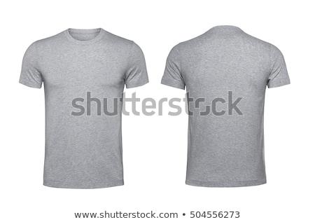 tshirt · rouge · isolé · blanche · shirt - photo stock © kayros