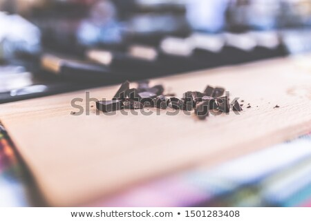 candies on a wooden chopping board Stock photo © nito