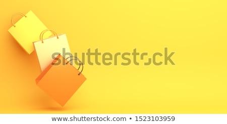 желтый корзина выстрел Сток-фото © devon