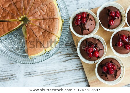 Muffin atasco pan comer frescos manana Foto stock © M-studio