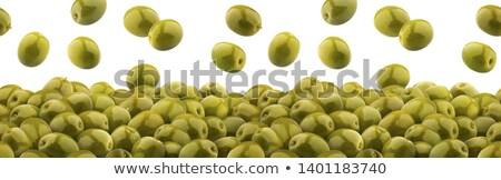 marinated green olives Stock photo © Digifoodstock