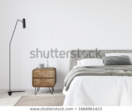 Bedside table lamp Stock photo © stevanovicigor
