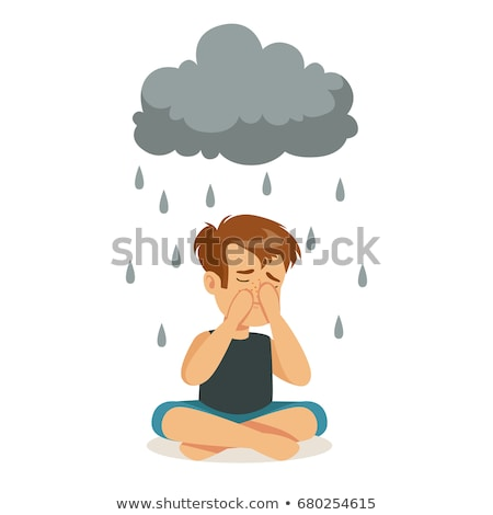 Regenachtig wolken regen weer klimaat seizoen Stockfoto © stevanovicigor