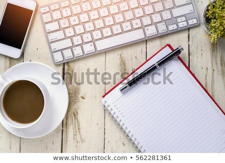 teclado · teia · desenvolvimento · botão · laranja - foto stock © tashatuvango