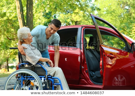 wheelchair medicine and health transportation of patients stock photo © studiostoks