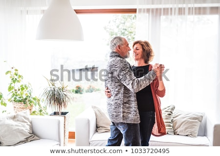 Mature couple dancing Stock photo © IS2