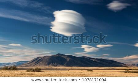 облака · гор · пейзаж · красивой · закат · лес - Сток-фото © vapi