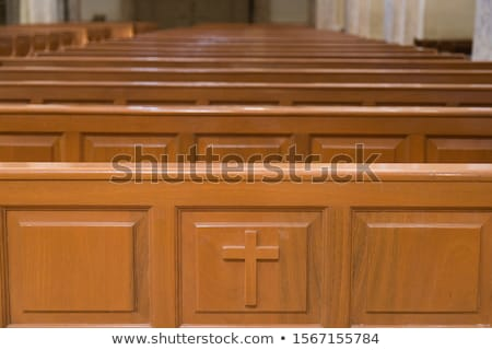 ストックフォト: 詳細 · 古い · 教会 · 建物 · デザイン · 夏