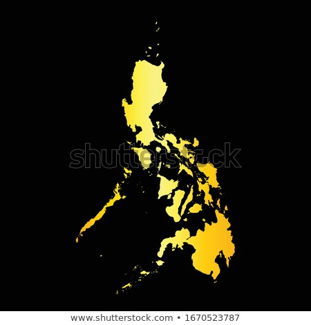 золото · силуэта · Манила · черный · Церкви · путешествия - Сток-фото © Ray_of_Light