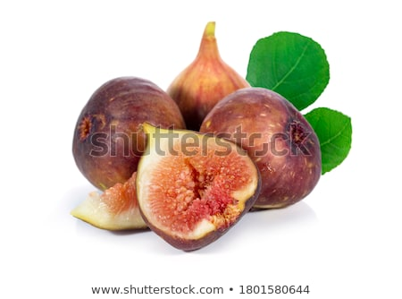 Half of fig with red flesh Stock photo © dash