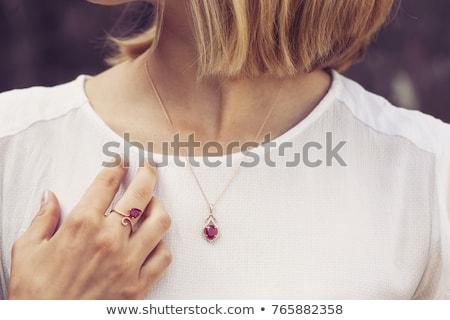 prezioso · pietre · perle · illustrazione · texture · sfondo - foto d'archivio © robuart