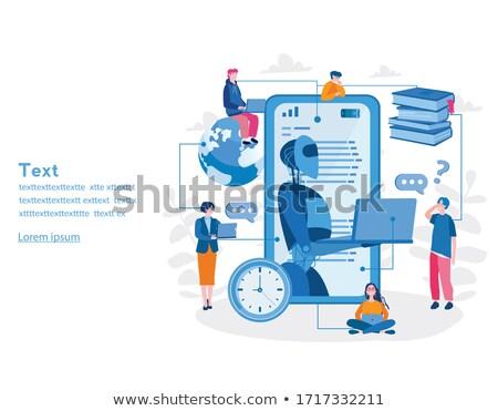 verde · maquinaria · branco · abstrato · tecnologia · fábrica - foto stock © robuart