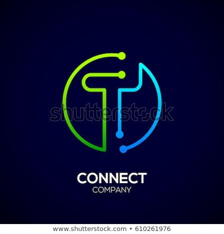 緑 ロゴ ベクトル ロゴタイプ デザイン ストックフォト © blaskorizov