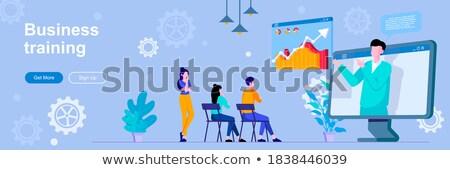business coaching header or footer banner stock photo © rastudio