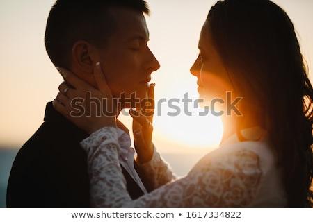 Stockfoto: Conceptual Portrait Of An Elegant Couple