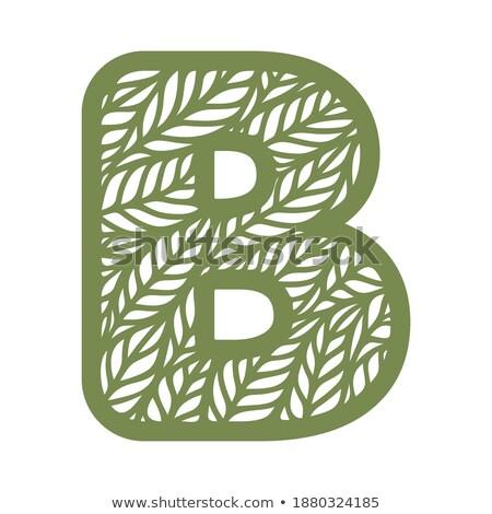 zöld · fa · ikon · izolált · fehér · fa · tavasz - stock fotó © kyryloff