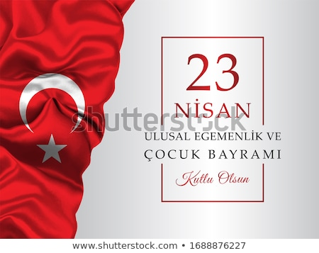 Türk festival gün Türkiye dizayn Stok fotoğraf © sgursozlu