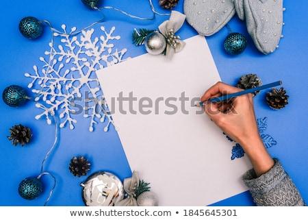 Jeleń · Uwaga · szablon · ilustracja · tekstury · tle - zdjęcia stock © colematt